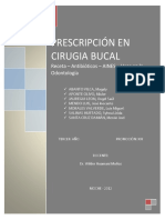 Prescripcion en Cirugia Bucal Expo
