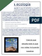 desarrollo de la ecologia