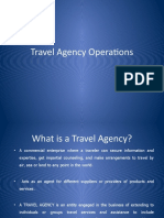 Travel Agency Operations