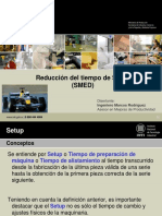 SET-UP REDUCTION SMED. By Osiel Guerra