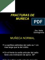 Fracturas de Muñeca