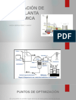 Optimizacion de Planta Termica