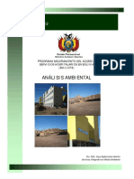 analisis ambiental  Hospital de Tercer Nivel