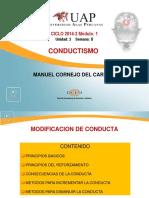 6. Modificación de Conducta