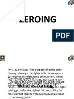 Army Rifle Zeroing Guide