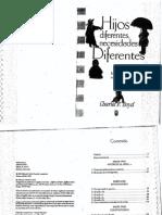 Hijos Diferentes, Necesidades Diferentes (Charles F. Boyd)
