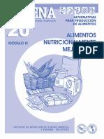 CADENA 20 Alimentos Nutricionalmente Mejorados