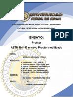 Ensayo de Compactación Proctor1