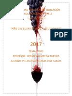 Informe Vino