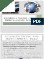 Exportación Temporal Para Perfeccionamiento Pasivo- Diapositivas
