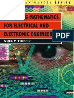Mastering Mathematics for Electronic Engineering