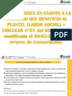 Actividad Que Beneficia Al Plantel o Comunidad (Labor Social)
