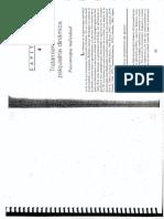 Gabbard - Cap. 4 - Tratamientos en Psiquiatría Dinámica