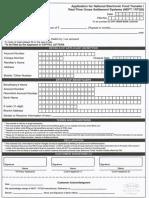 Cub Rtgs Form