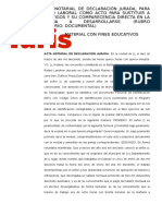ACTA NOTARIAL DECLARACIÓN JURADA -LABORAL-.docx