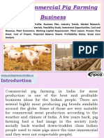 Start Commercial Pig Farming Business Detailed Project Report, Profile, Business Plan, Industry Trends, Market Research, Survey, Machinery, Raw Materials, Feasibility Study, Investment Opportunities, Cost and Revenue, Plant Economics, Working Capital Requirement, Plant Layout, Process Flow Sheet, Cost of Project, Projected Balance Sheets, Profitability Ratios, Break Even Analysis