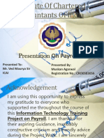 Presentation on Payroll