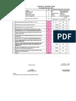 Contoh Form SKP Dosen