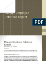 manage employee relations report manage employee relations pieternella busk
