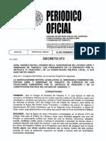 2008 - decreto 073