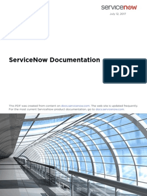 Servicenow It Service Management 7-12-2017 | Leadership