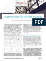 Currency Risk Project Finance Discussion Paper
