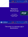 Malware Workshop