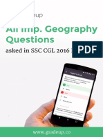 Geography Questions Asked in SSC CGL 2016 English .PDF-71