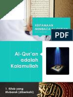 Keutamaan Membaca Al-qur'an Lite