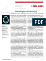 Prognostic Modelling in Traumatic Brain Injury