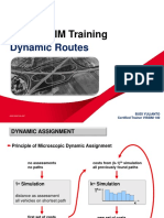 Vissim Training - 12. Dynamic Routes