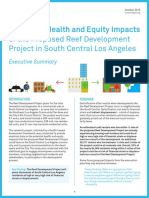The Reef Displacement Impact Study Summary