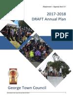 George Town Council Annual Plan 2017-18