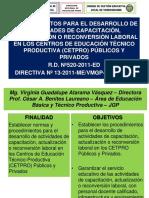 Procedimientos RD 520 2011 ED