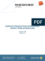 05 Surface Production Short Term Schedule V70