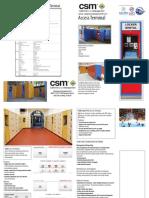 CSM Access Terminal Locker System