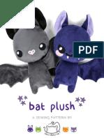 Bat Plush Pattern2