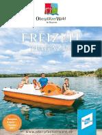 Oberpfälzer Wald Freizeitmagazin mittendrin 2017