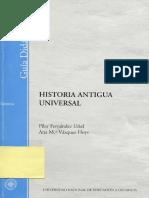 APUNTES. Guia Didactica Historia Antigua Universal UNED