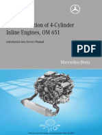 Introduction of the Mercedes 0M651 Engine