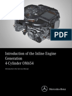 Introduction of the Mercedes OM654 Engine