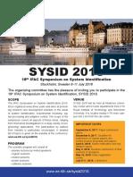 Flyer Sysid 2018 Klar