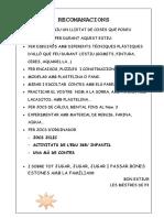RECOMANACIONS D'ESTIU P3