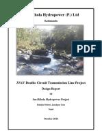 Suri Khola Transmission Line Design Report