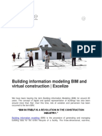 Building Information Modeling BIM and Virtual Construction