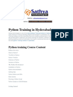 Python course training institute ameerpet hyderabad
