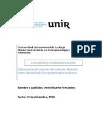 Informe Lateralidad Irene Muerte