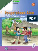 Ilmu Pengetahuan Alam (IPA) untuk SD/MI Kelas 6