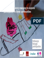 Using participatory mapping to explore participation in three communities
