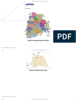 Telangana New Districts Maps